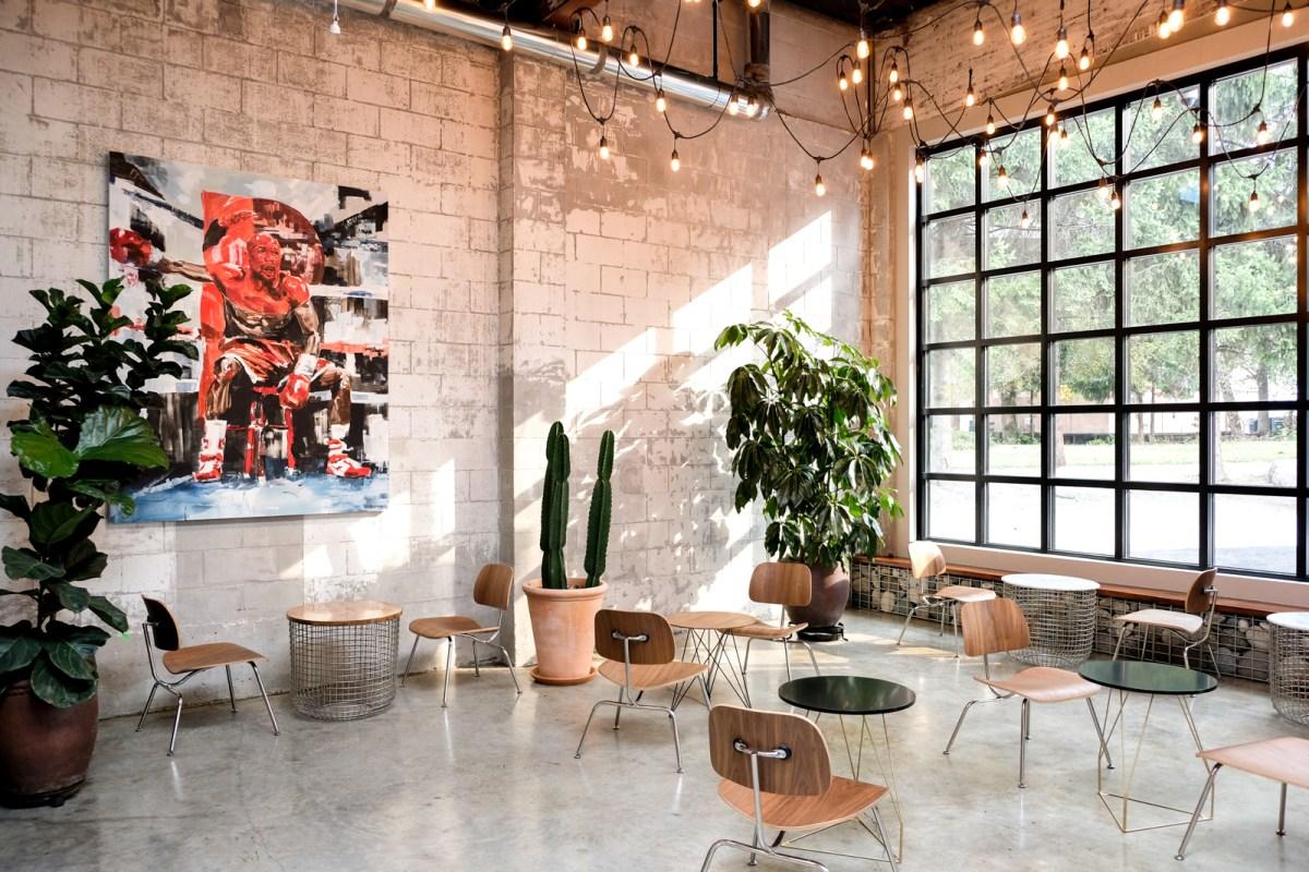 La Foret Cafe - Burnaby BC - Interior design