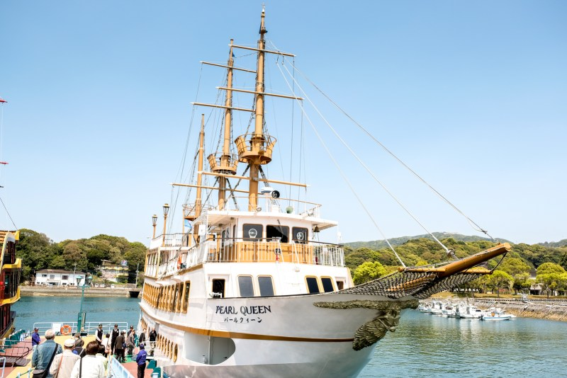 Kujukushima excursion boat Pearl Queen