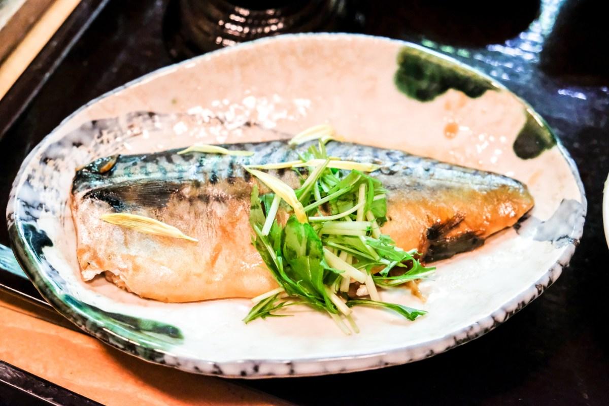 Fish dish from Bentendo Restaurant in Hakata 博多 弁天堂