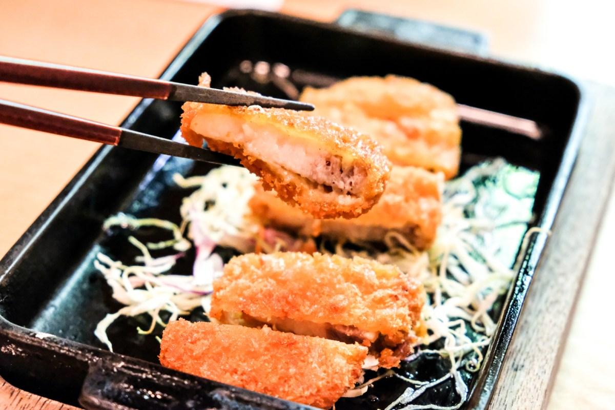 Tonkatsu from Bentendo Restaurant in Hakata 博多 弁天堂