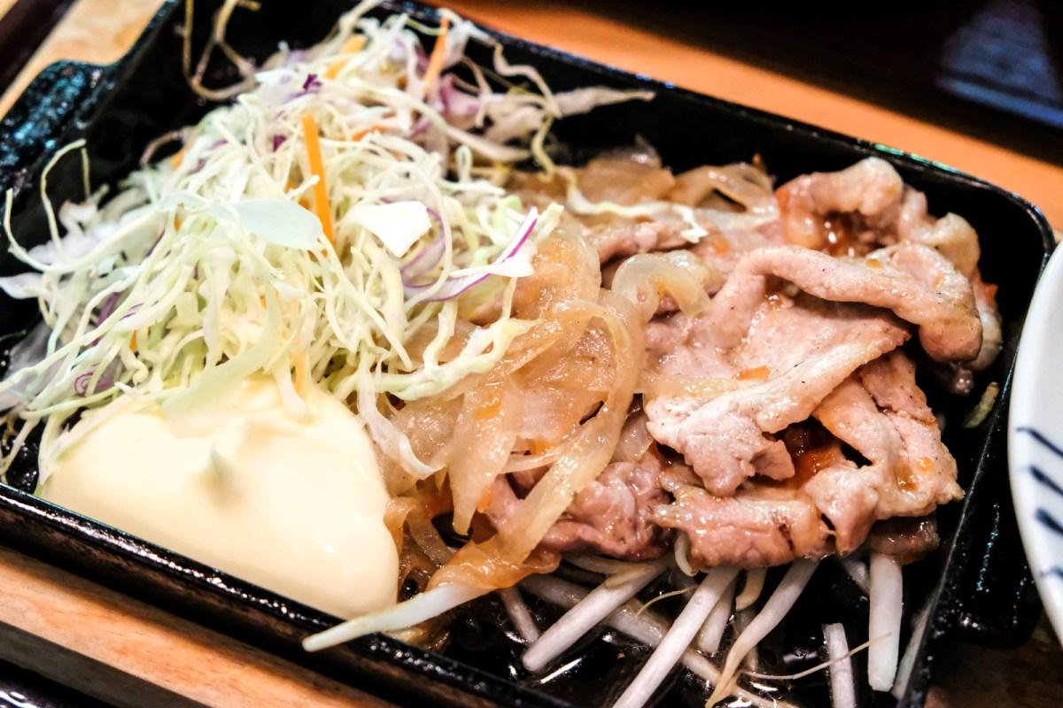 Ginger Pork from Bentendo Restaurant in Hakata 博多 弁天堂