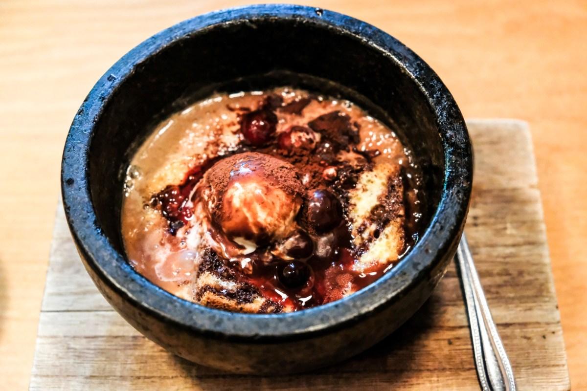 Dessert from Bentendo Restaurant in Hakata 博多 弁天堂