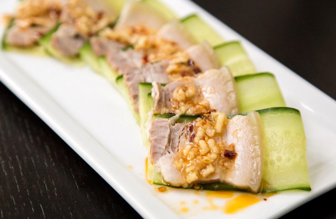 Pork Belly with Garlic Chili Sauce Recipe - 蒜泥白肉