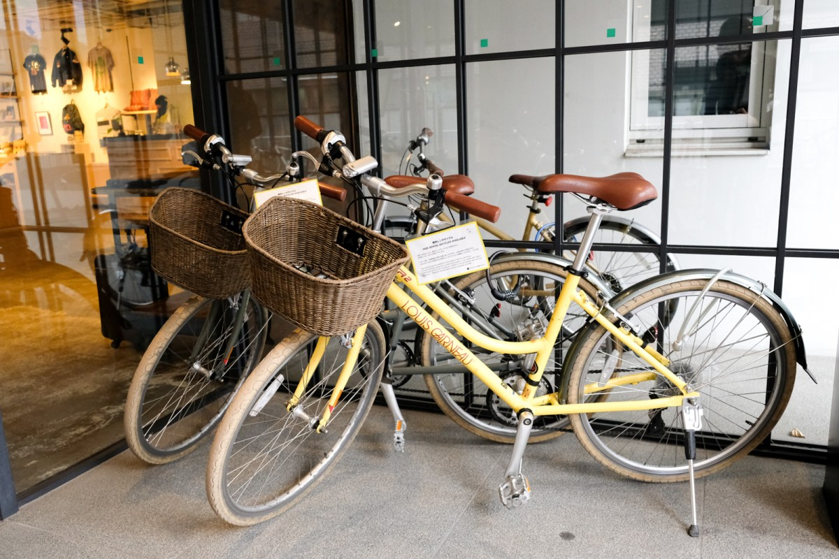 Rental Bikes - Hotel Anteroom Kyoto Review