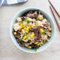 Beef Pepper Rice Recipe