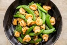 Shrimp & Snap Peas Stir-Fry with XO Sauce Recipe