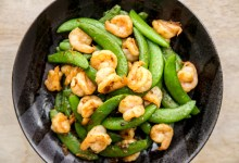 Shrimp & Snap Peas Stir-Fry with XO Sauce Recipe