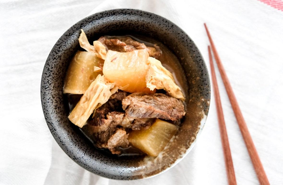 Instant Pot Braised Beef Brisket Recipe