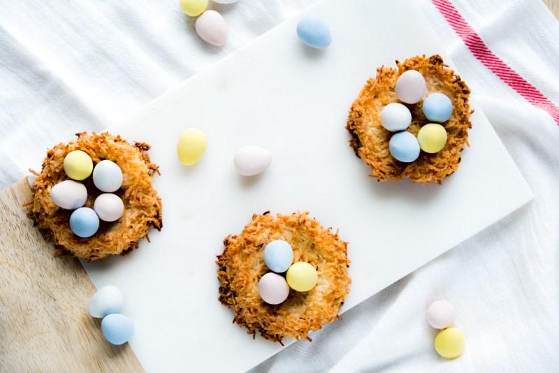 Coconut Macaroon Nests Recipe