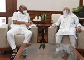 NCP Chief meets PM