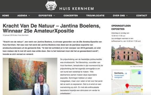 Kracht Van De Natuur - Jantina Boelens