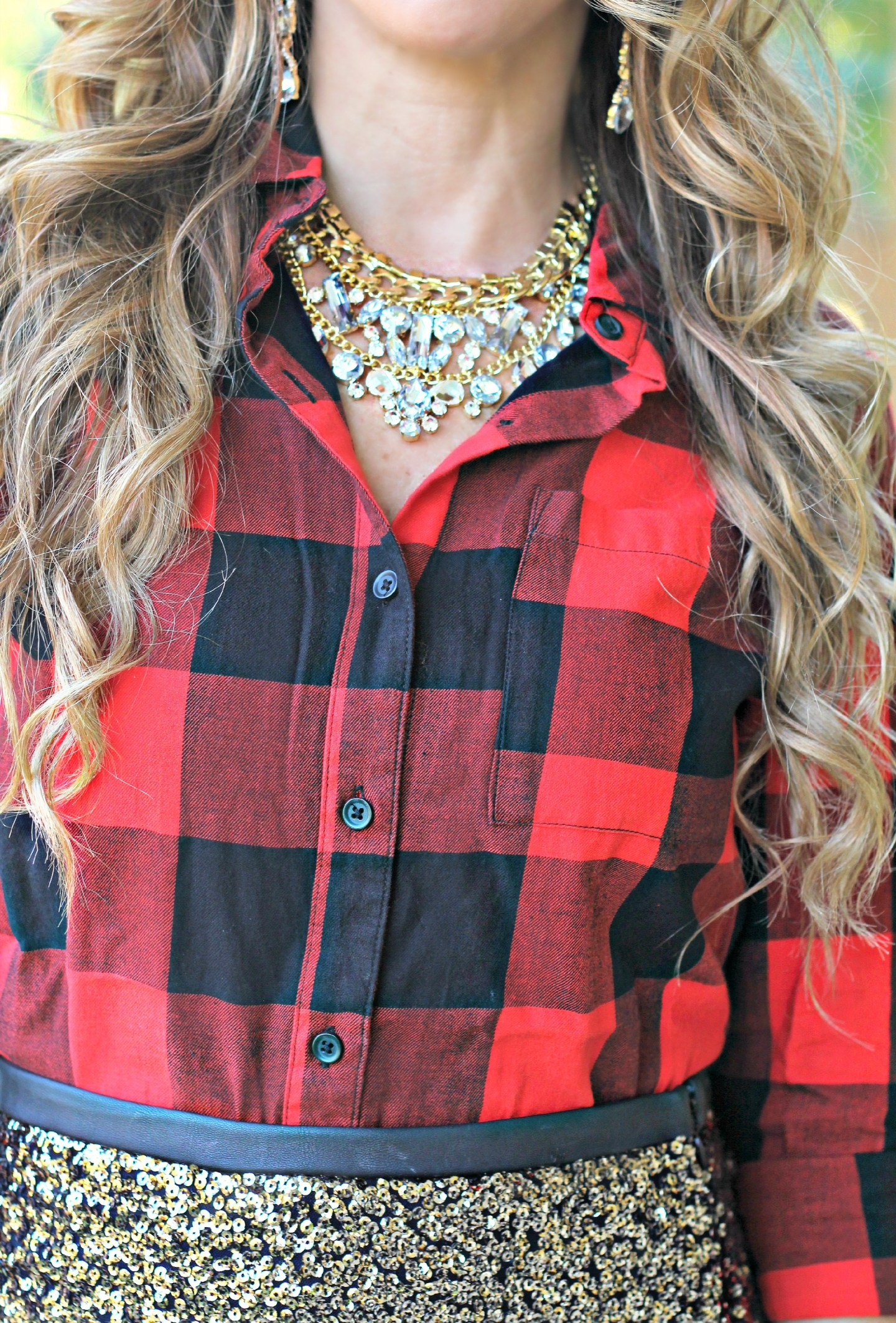 sequin plaid 3