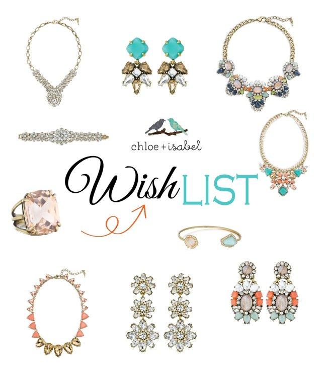 chloe isabel wish list