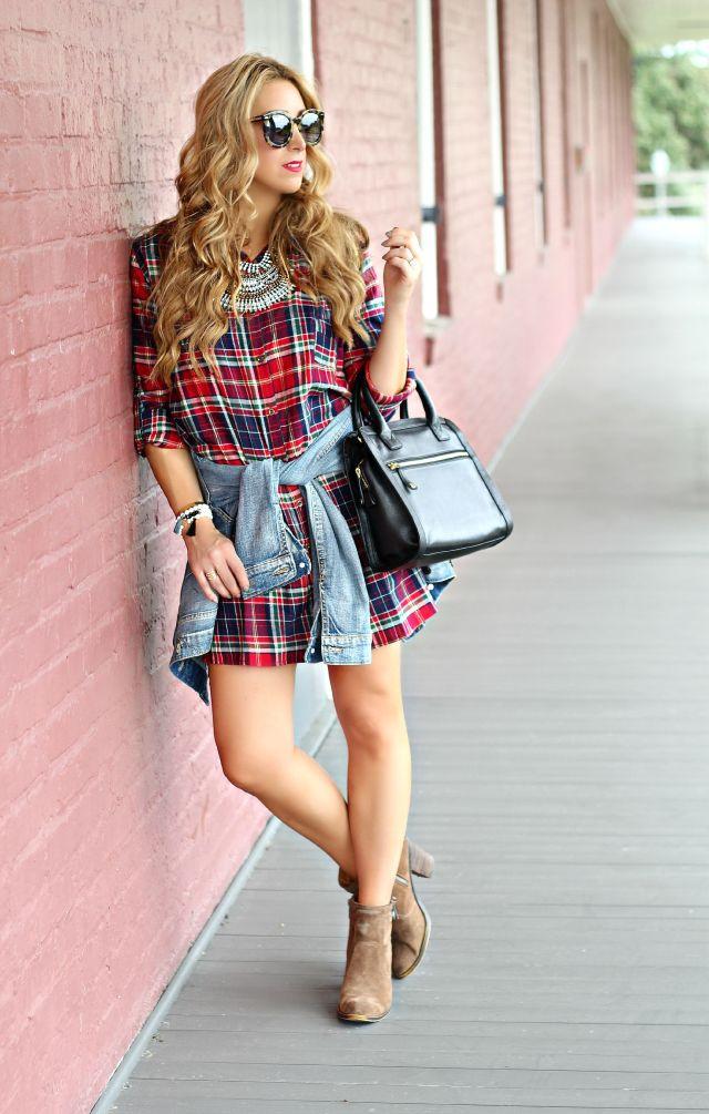 red plaid dress 6