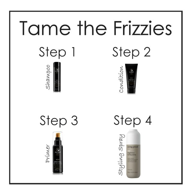 tame the frizzies