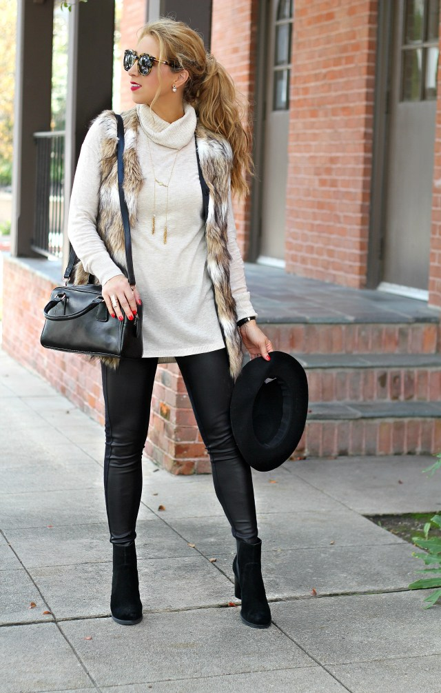 chicwish fur vest 2