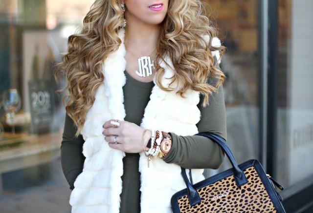 chicwish fur vest 3