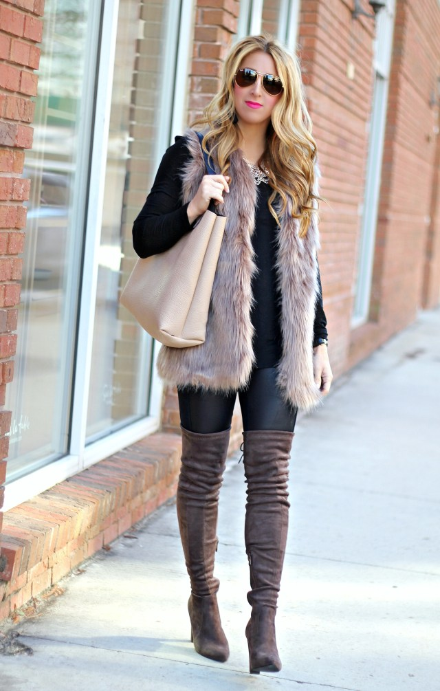 chicwish fur vest 1