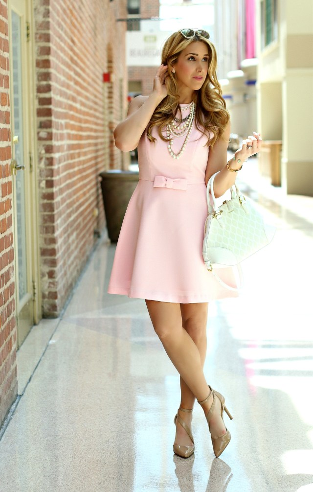 chicwish blush dress 2