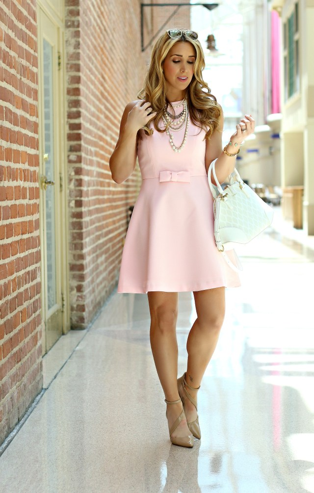 chicwish blush dress 5