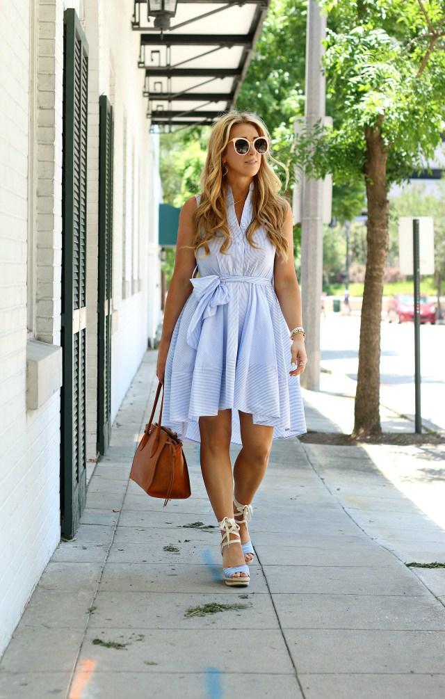hi lo summer dress
