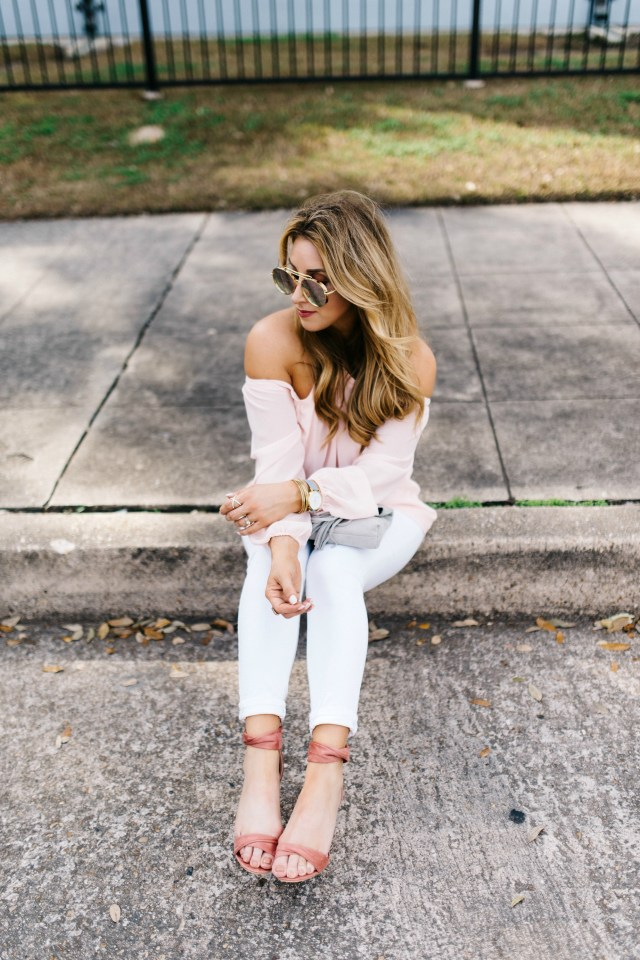 How to style Blush for Spring | January Hart Blog