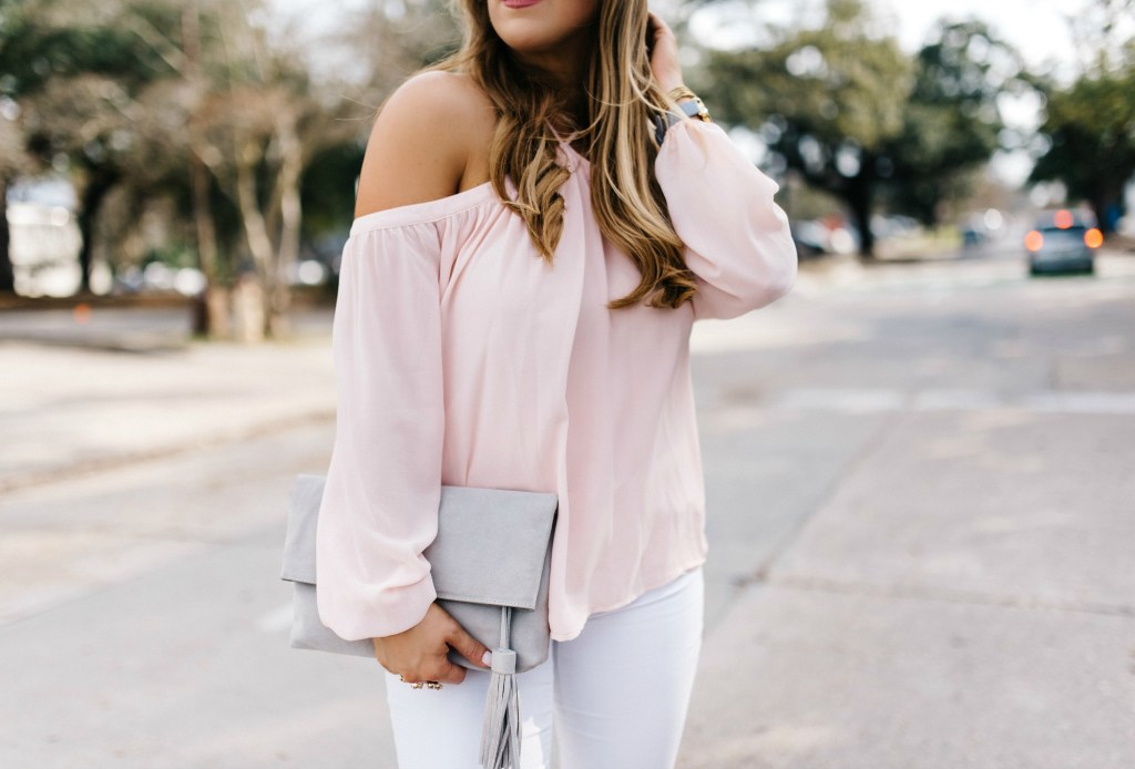 Blush Chiffon Top 3