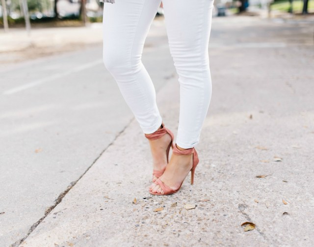 Dusty Rose Heels | January Hart Blog