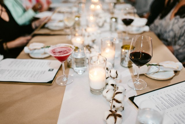 girl's night out tablescape