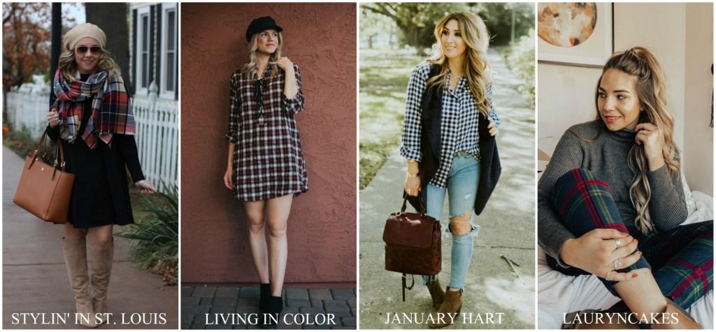 Collage- flannel-plaid