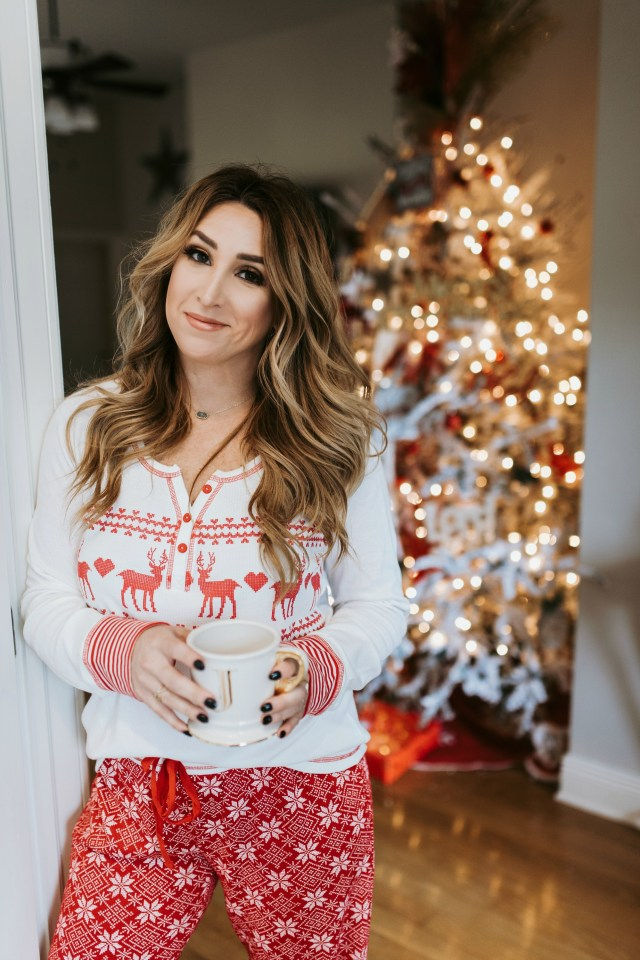 womens christmas pajamas