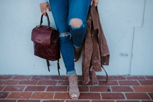Best taupe peep toe booties for women