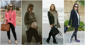 How to style leggings in winter