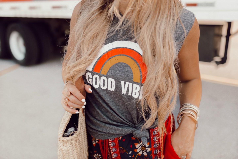 Good Vibes shirt on JanuaryHart.com