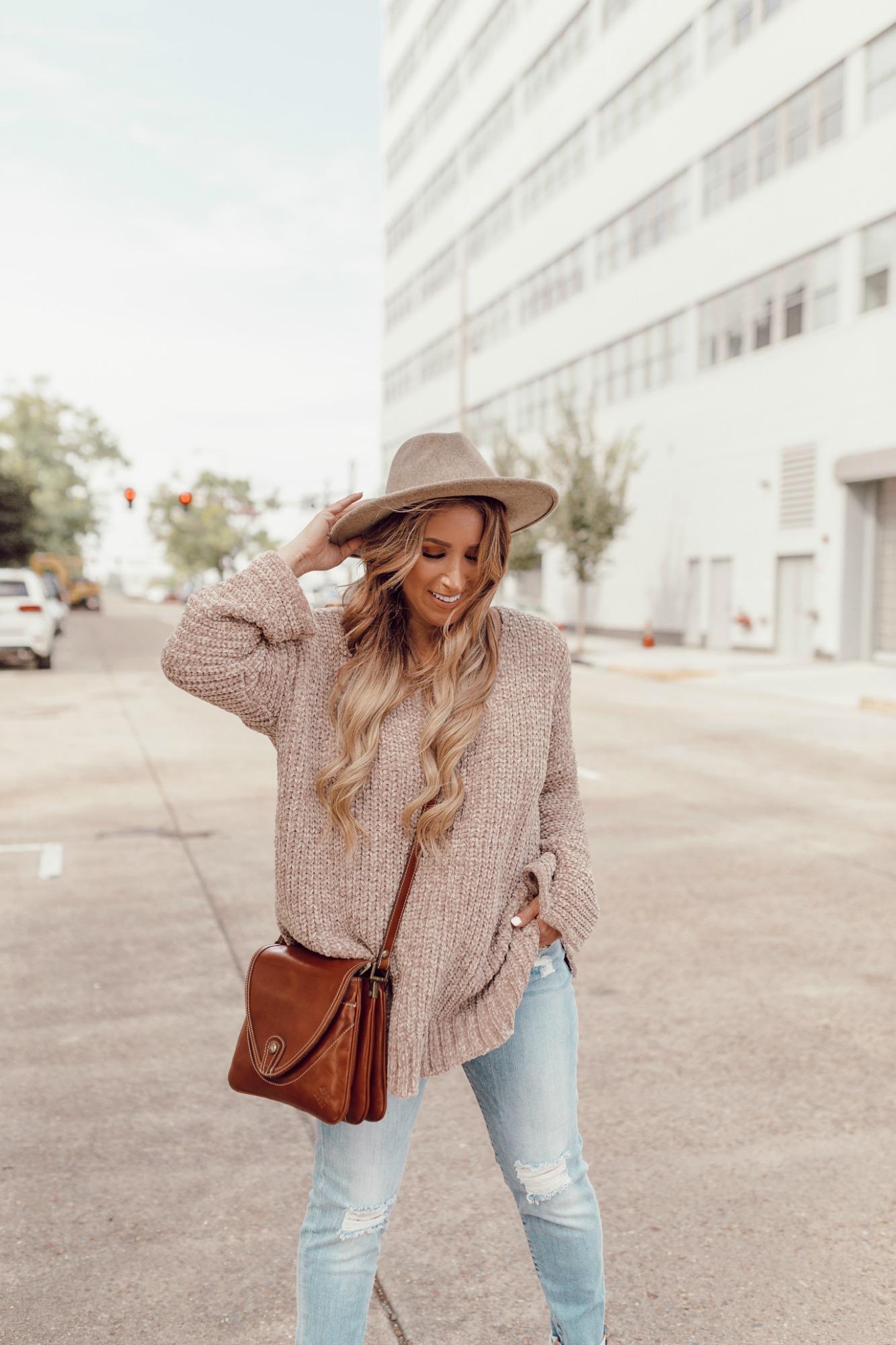 Cozy Chenille sweater on JanuaryHart.com