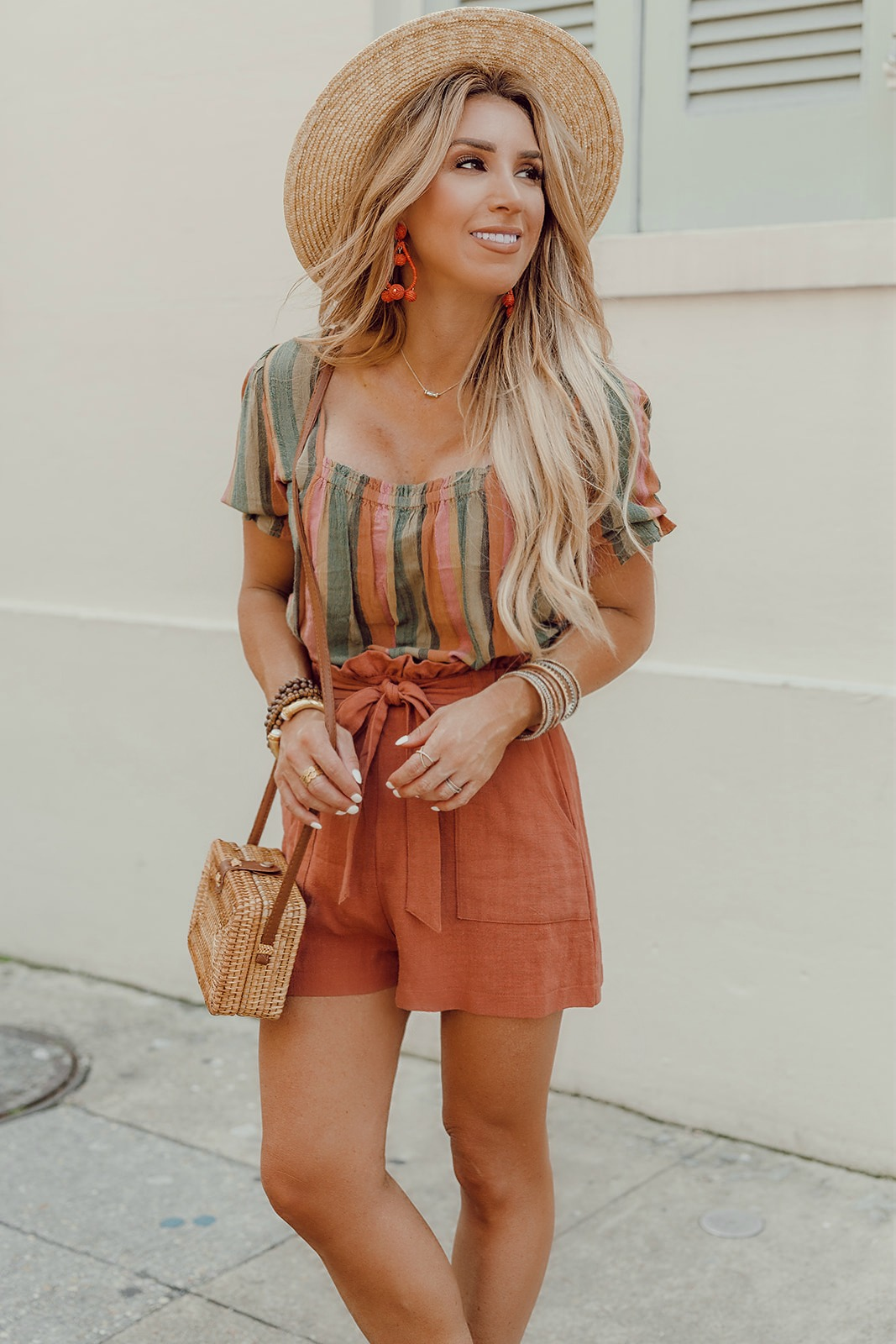 Boho crop top outfits