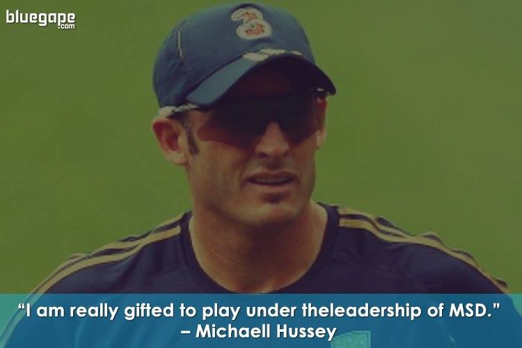 Michael-Hussey-Famous-Quote-Dhoni