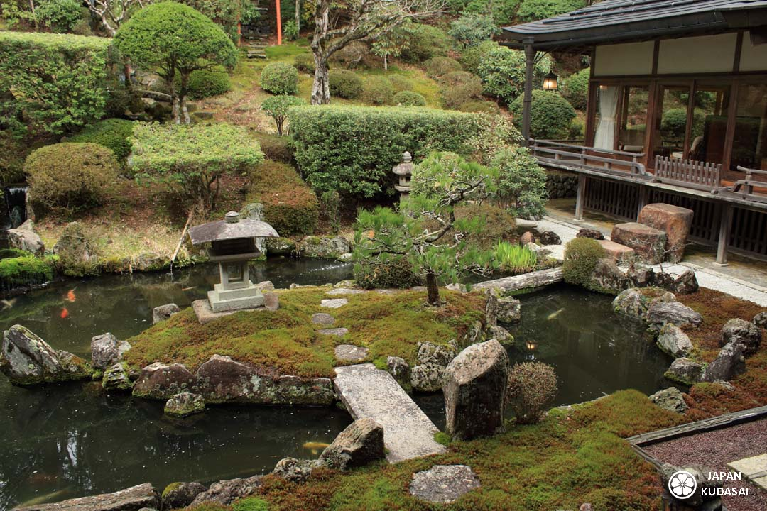 jardin du temple ichijoin à koyasan