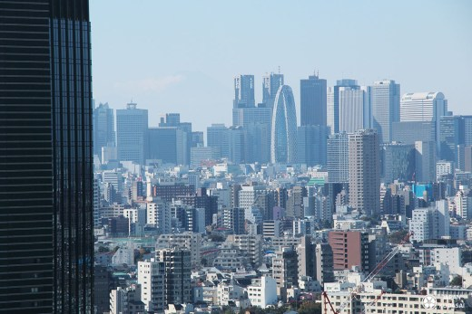 Panorama sur Shinjuku depuis l'oservatoire Bunkyo civic center