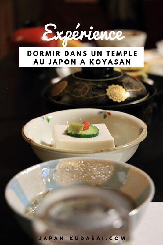Expérience - Dormir une nuit dans un temple bouddhiste au Japon sur le mont Koya - Blog Japan kudasai