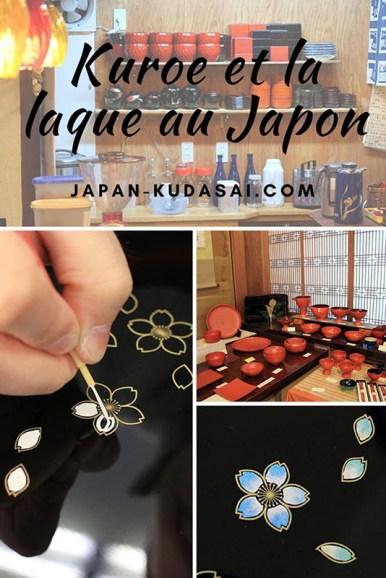 Expérience au Japon - atelier de peinture sur laque à Kuroe