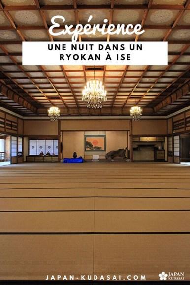 Expérience - dormir dans un ryokan sur la côte de la préfecture de Mie - Ise