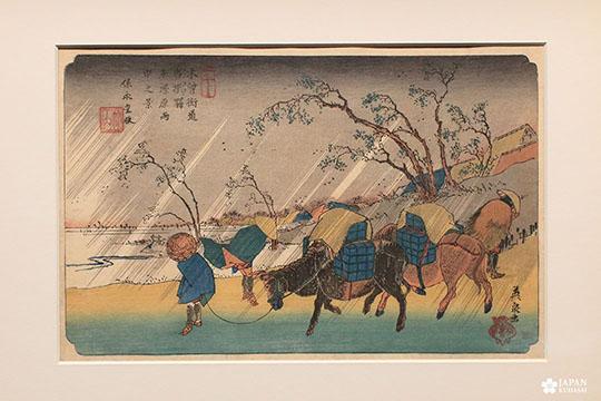 Exposition estampes sur la route du kisokaido musée cernuschi (7)