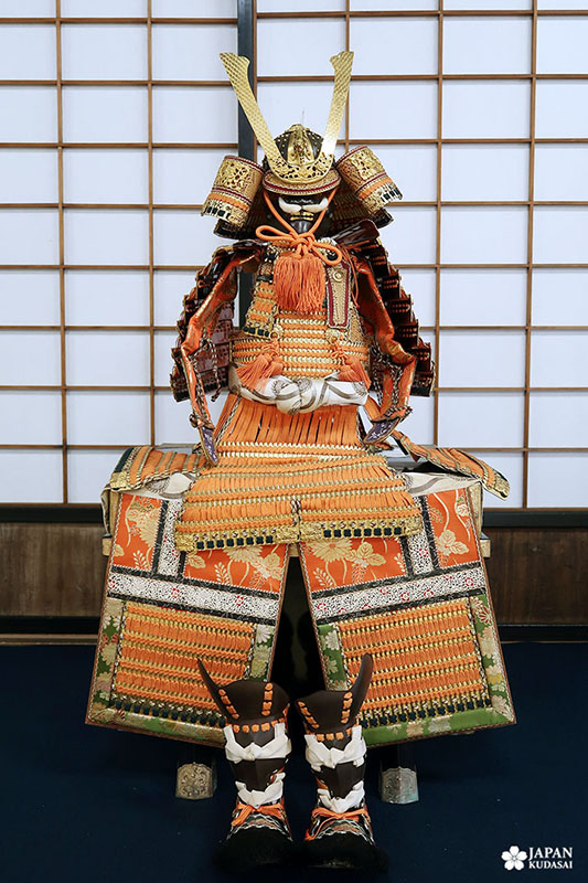 armure de samourai pour jeune garçon