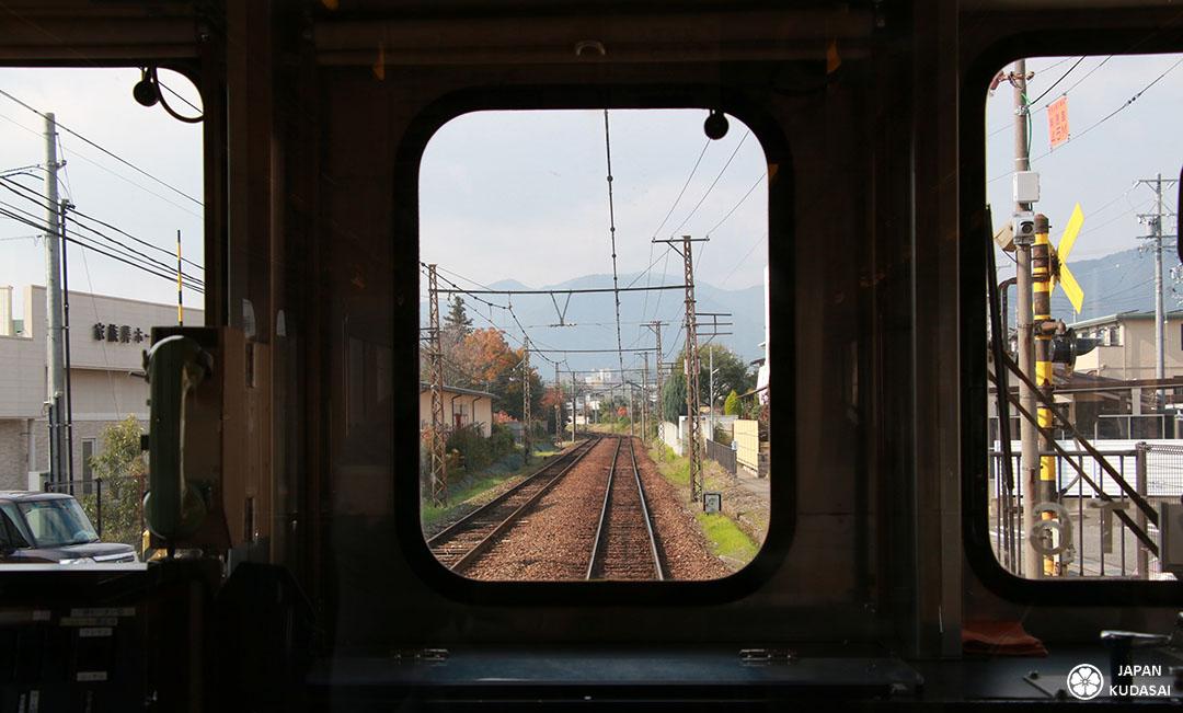 japon train jr obuse nagano line jr west