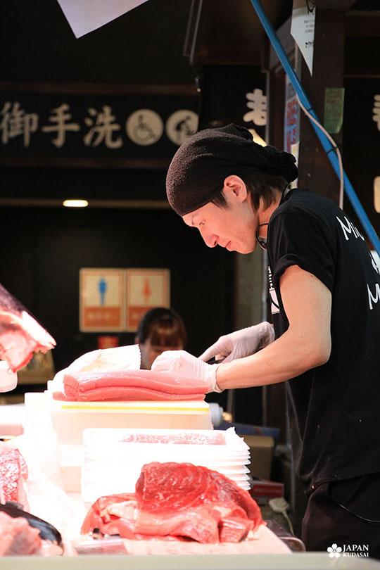 Thon rouge - marché Kuroshio (19)