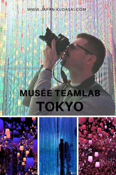 Top 5 des musées à faire à Tokyo - teamLab Borderless à Odaiba