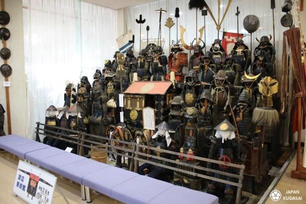 Japan kudasai, blog de voyage sur le Japon, présente le musée Watanabe (Tottori) des armures de samourais. Faites un test !