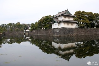 Les jardins Est du palais impérial de Tokyo