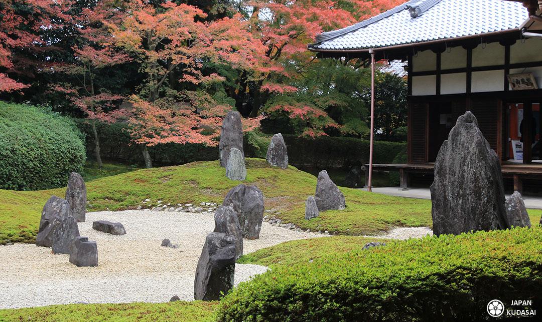 vue jardin sec temple zen japon kansai